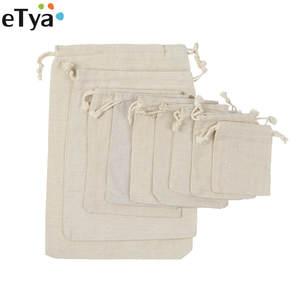 fc4c26854c88a eTya Reusable Cotton Shopping Bag Women Men Shopper Tote