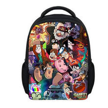 13 Inch Gravity Falls School Bags for Kindergarten Children kids Backpack for Girls Boys Children s