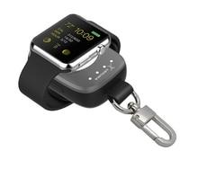 MEMTEQ Cargador Inalámbrico Portátil Para Apple Reloj Magnético cargador de Carga de la Energía Bank para Apple Reloj 38mm De Recorrido