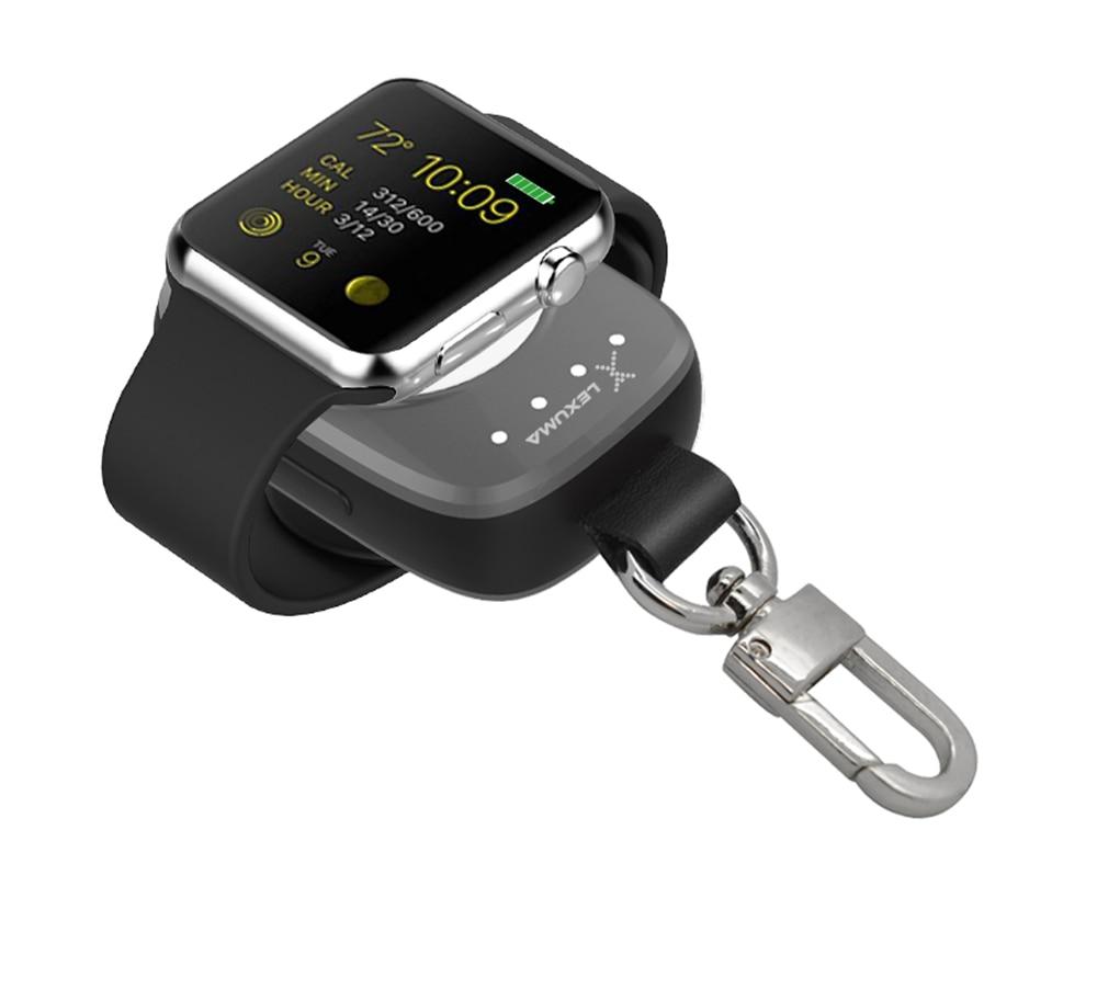 Portable Wireless Charger For Apple Watch Magnetic Charging Power Bank charger for Apple Watch 38mm 42mm Easy Carry For Travel зарядное устройство для apple watch apple watch magnetic charging cable 0 3m mlla2zm a