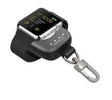Cargador Inalámbrico portátil Para Apple Reloj Magnético cargador de Carga de la Energía Bank para Apple Reloj 38mm 42mm Fácil de Llevar para los Viajes