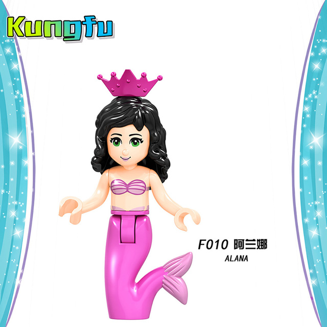 Playmobil Disneyes series Fairy Godmother Maleficen Compatible Legoings princess Building Blocks Figures Toys  Gift Compatible  5