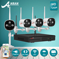 Plug And Play P2P 720P HD Outdoor+Indoor IR WIFI Security Camera System&4CH Wireless NVR Video Surveillance CCTV Kit 1TB HDD