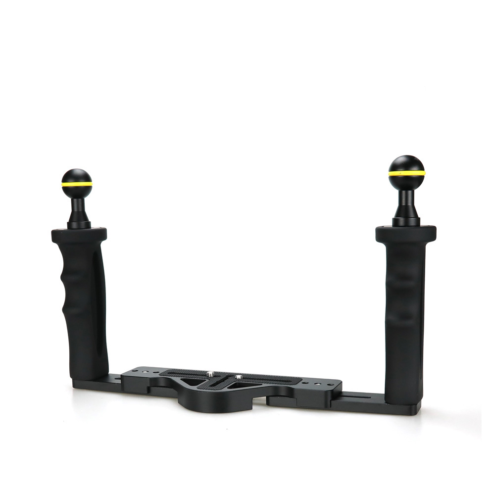 camera stabilizer tray grip handle
