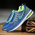 Los nuevos Hombres Del Otoño Del Resorte de Hoja Parejas zapatos Zapatos Casuales Del Deporte Al Aire Libre antideslizante Transpirable zapatos de Malla Zapatillas Deportivas