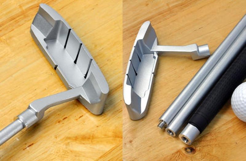 Zinc Alloy Putter Golf Training Aids, Home Indoor Office Outdoor Golf Training Set - Golf Auto Putting Cup Ball Return System