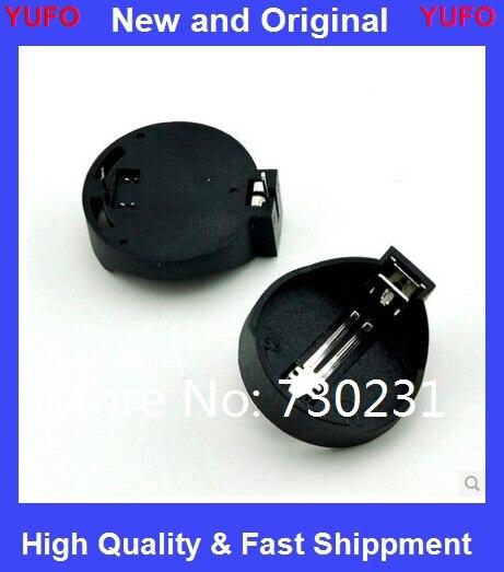 Suporte da Bateria Frete Grátis Bateria Botão Celular Titular Soquete Case Cr2032 2032 100 Pcs