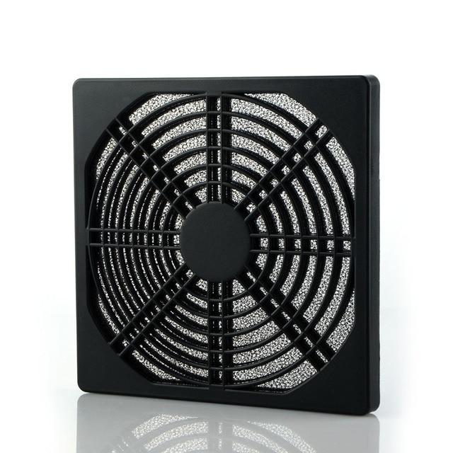 80mm 125mm PC Computer Fan Dust Cover Case 3 in 1 Dustproof Sponge Filter Mesh 8cm 12.5cm Computer Fan Colander Dust Net P0.11 Fans & Cooling