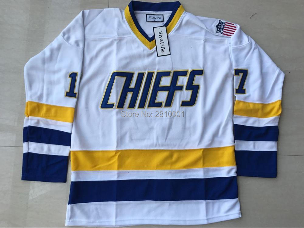 0ca29140f Buy charlestown chief slap shot jersey and get free shipping on  AliExpress.com