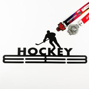 Image 4 - הוקי מדליית קולב ספורט מתלה תצוגת מדלית מדליית מחזיק 40 cm L עבור 32 + מדליות