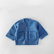 Fall infant newborn baby coat cotton knitting long sleeve