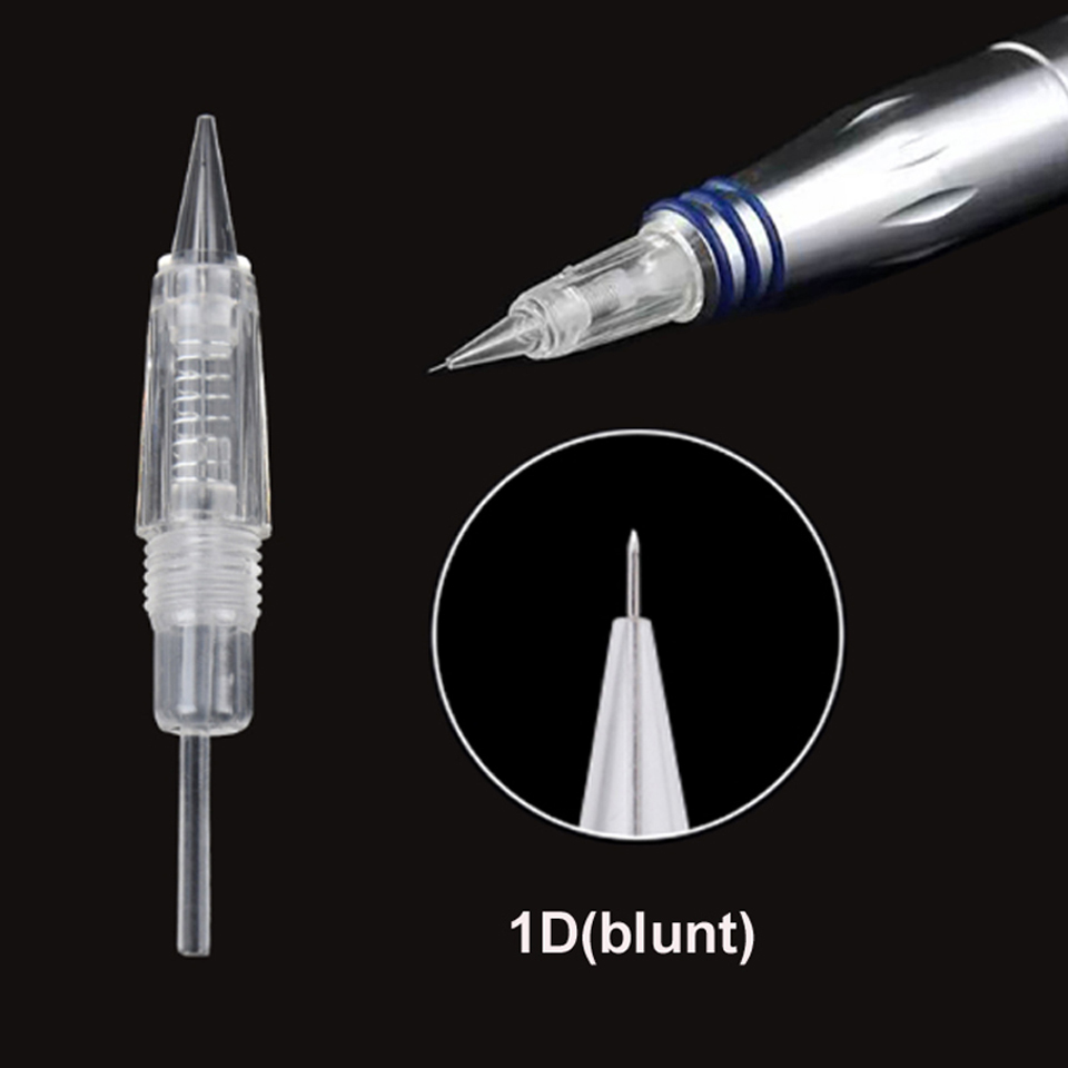 Image 3 - 5pcs/lot Disposable Screw Tattoo Needle Cartridge For Premium Charmant Permanent Tattoo Machine 1P 1D 2P 3P 3FP 5P 5FP 7FP 7P-in Tattoo Needles from Beauty & Health