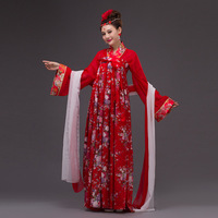 Chinese Cosplay Female Fairy Chinese Dance Costumes Hanfu Dress Ropa Mujer Traditional Costume Guzheng Ancient China Clothing