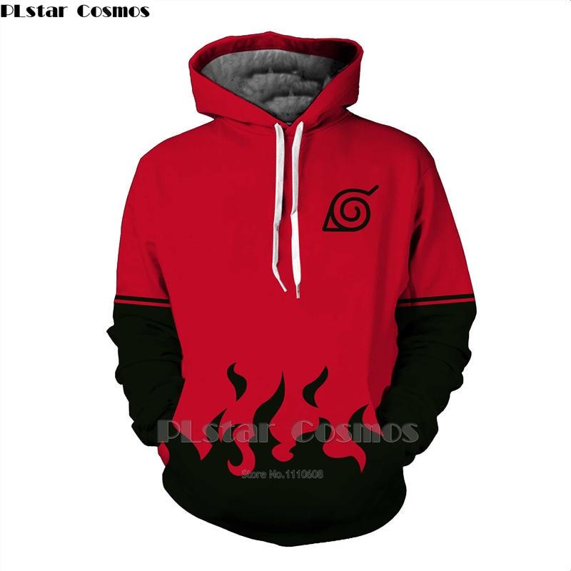 Plstar Cosmos 3D hoodies Dragon Ball Naruto bolsillo con capucha sudaderas caliente 3D animación pullovers tracksuits manga larga adolescente