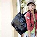 2016 Women Bag Fashion Women's Handbag Single Shoulder Tote Creative Space Pad Cotton Feather Down Big Bucket Bag Female