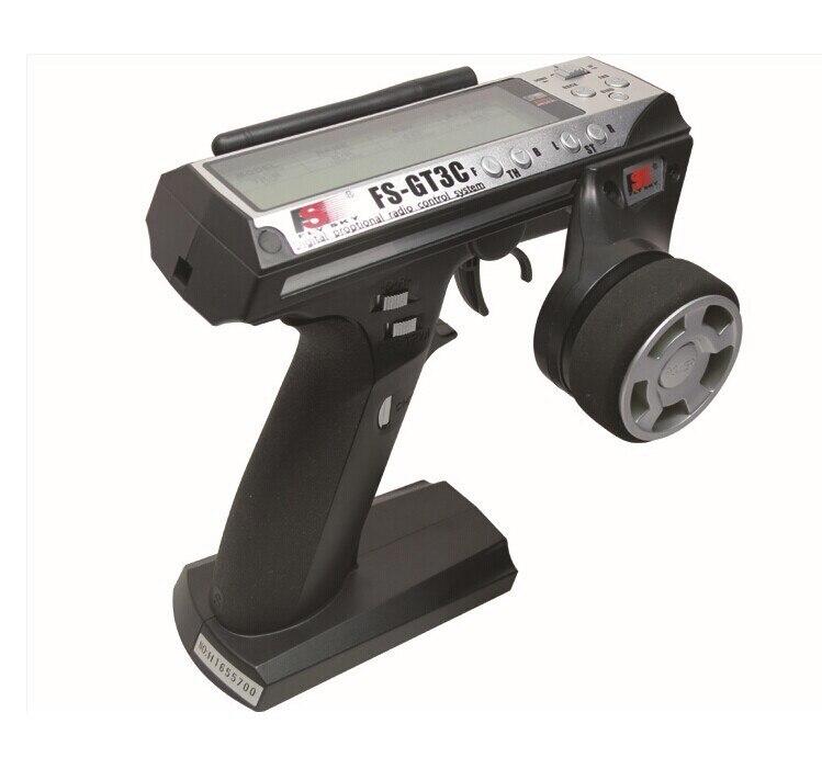 Flysky FS GT3C FS-GT3C 2.4G 3CH Gun Controller Emetteur Récepteur TX Batterie USB Câble Pour RC Voiture Bateau