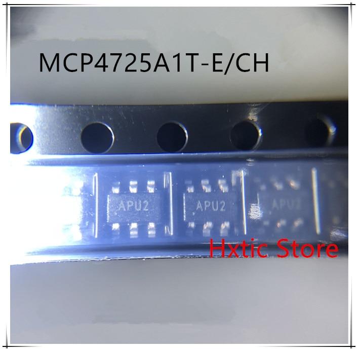 NEW 10PCS LOT MCP4725A1T E CH MCP4725A1T MCP4725 4725 SOT23 6 IC