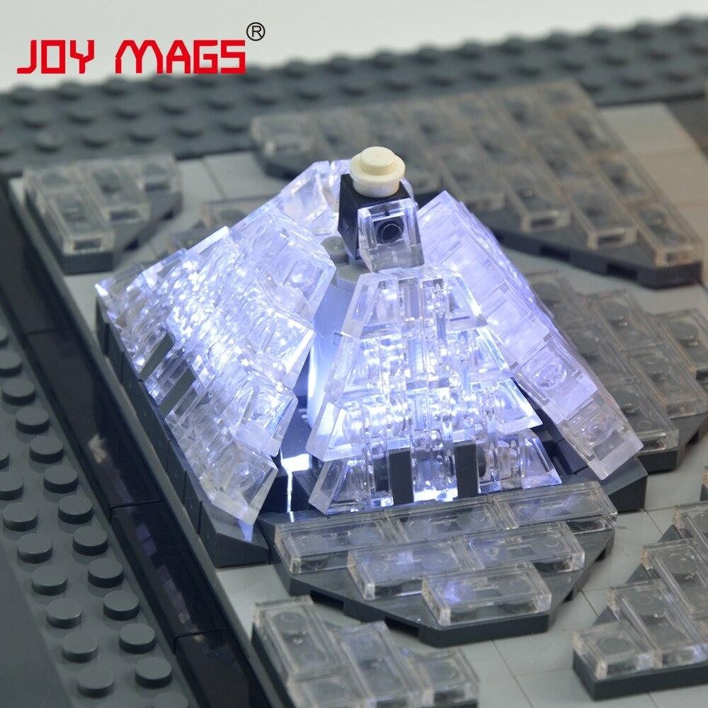 JOY MAGS Жеңілдеткіш жинағы Led Building Blocks Kit - Дизайнерлер мен құрылыс ойыншықтары - фото 5