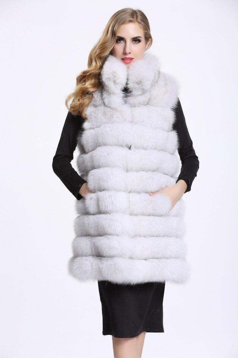 Femmes Fourrure Bouleversé Gros Mode Veste Corps De Blanc Style nwxzB0w