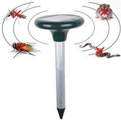 Солнечный Мощность сад слепушонка змея Мышь грызунов Отпугиватель комаров убийца летающих насекомых, ловушки комаров мух Мотылек Убийца