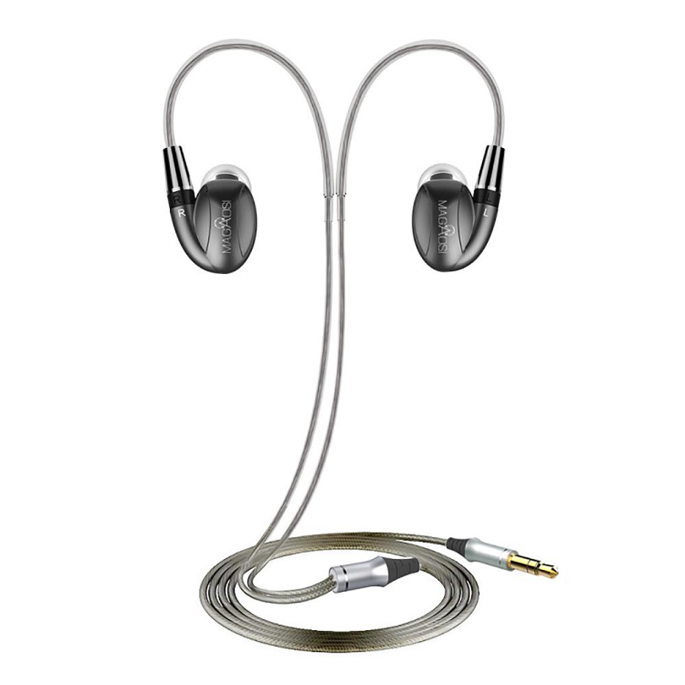 MaGaosi K3Pro In-Ear HiFi Audiophile Earbud Dynamic+ Dual Balanced Armature Hybrid Triple Driver Earphone With MMCX Interface