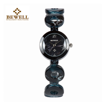 BEWELL Luxury Brand Woman Bracelet Gem Stone Watch