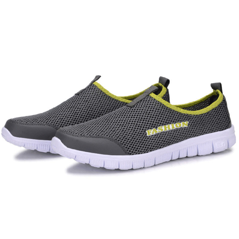 Breathable men shoes 2017 fashion new Woman casual mesh Large size Lover
