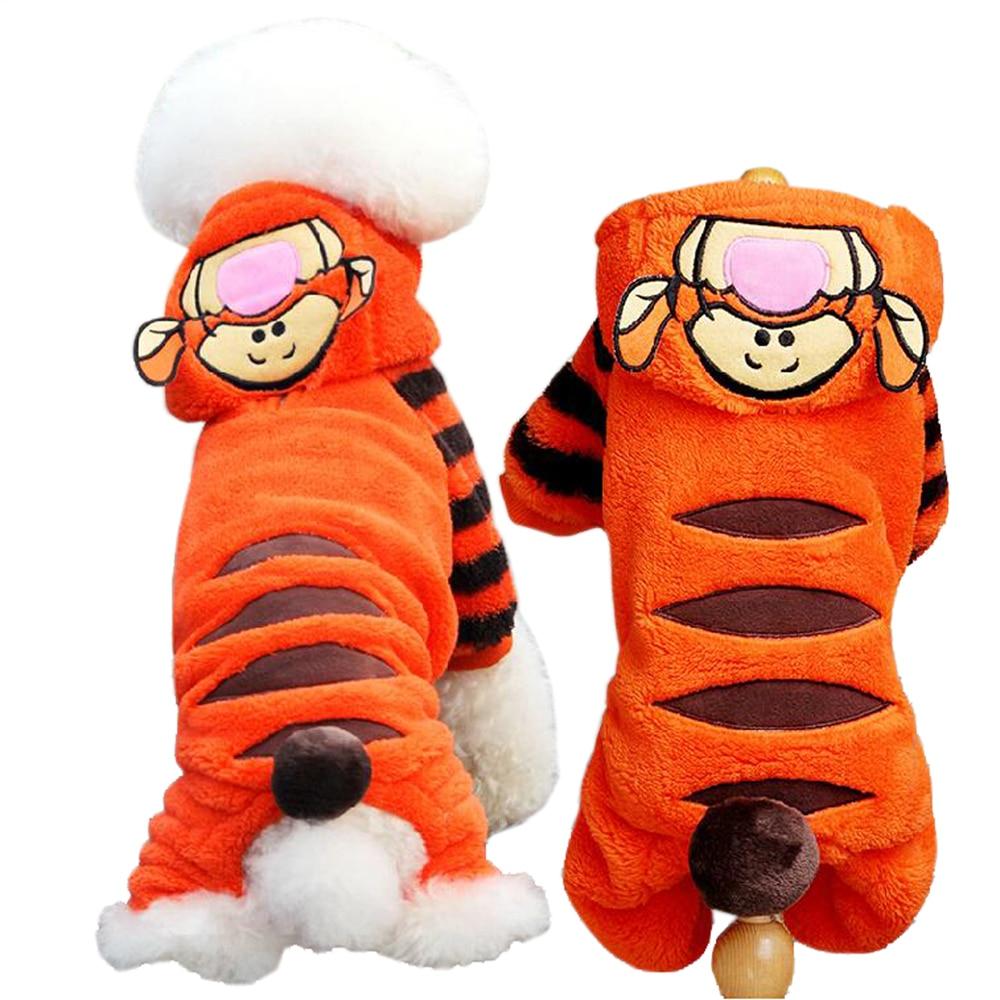 الخريف الشتاء كلب صغير الملابس الصوف هالوين الكلب زي الحيوانات وزرة الكلب بذلة الملابس ل كلب صغير القط