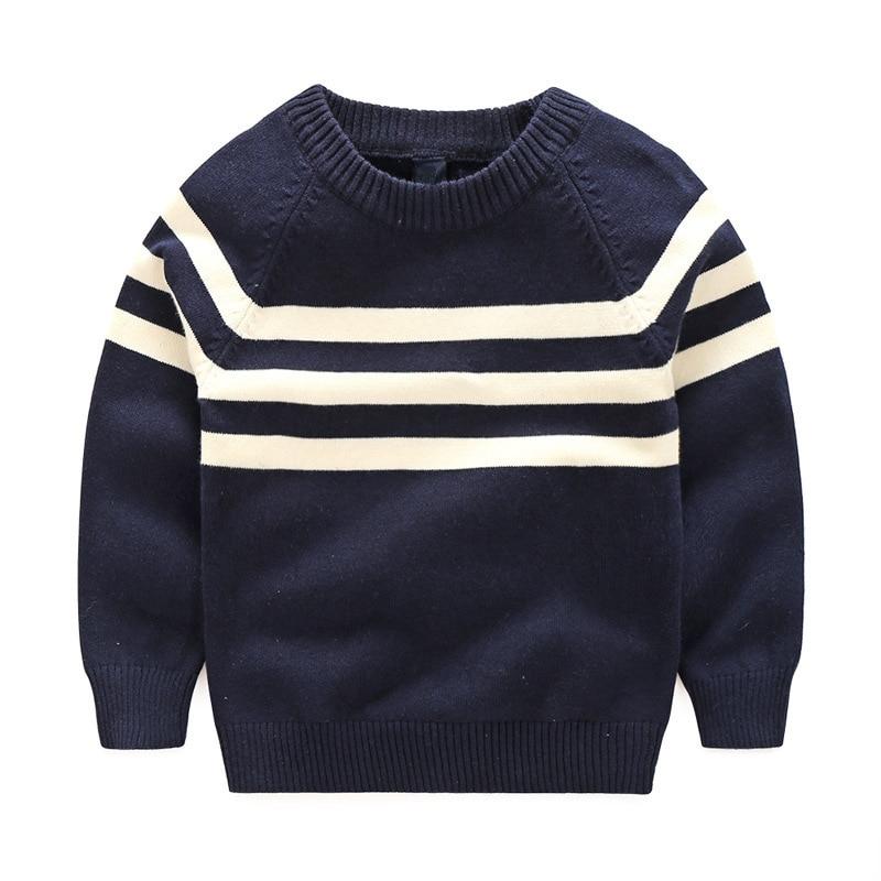 Boys White Sweater