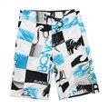 Mens Boardshorts Plus Size Swimwear Men Bermuda Surf Shorts Summer Beach Swim Surft Board Shorts Quick 2016 Silver