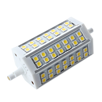 HHTL R7S J118 10w LED Dimmable Warm White Colour Replacement For Halogen Bulb 42 SMD 5050