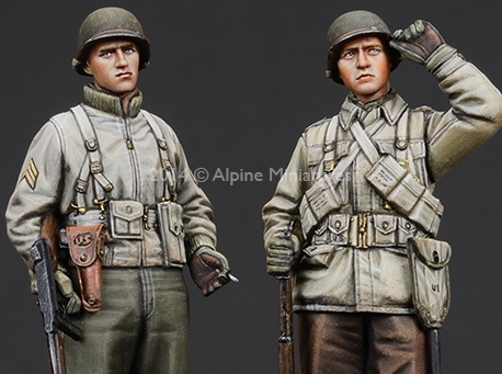 1:35 421  WW2 US Infantry Set
