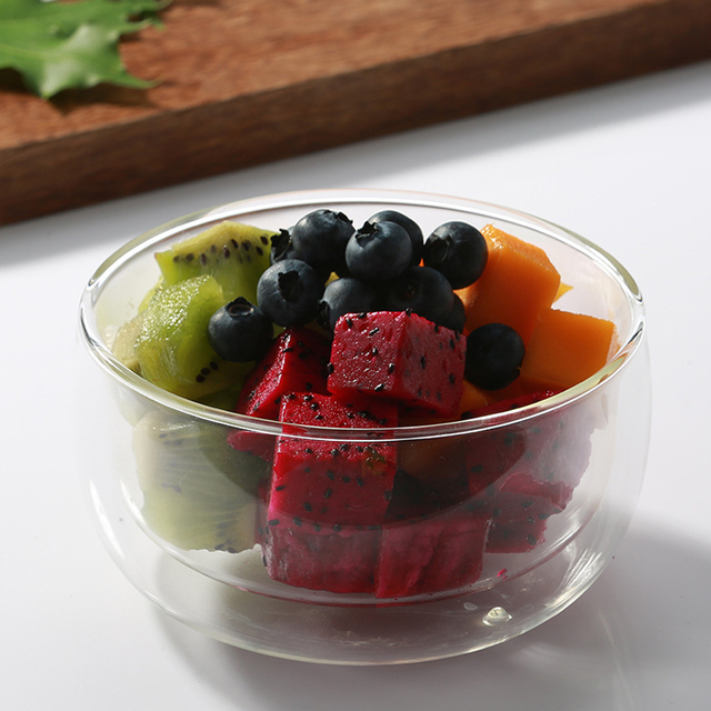 380ml Heat-resistant Borosilicate Glass Matcha Green Tea Bowl Matcha Ceremony Chawan Cup Japan Tableware Giftset Wholesale
