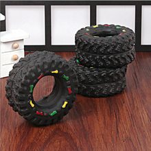 2016 new, free postage, Sound toys dog chew toy black tire 2016 New Pet Products Dog toys Funny Black tire chew toys