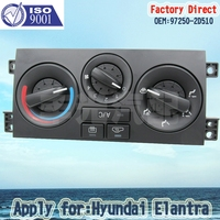 Factory Direct Auto Air Condition Control Panel Switch 97250 2D510 Apply For 2003 Hyundia Elantre