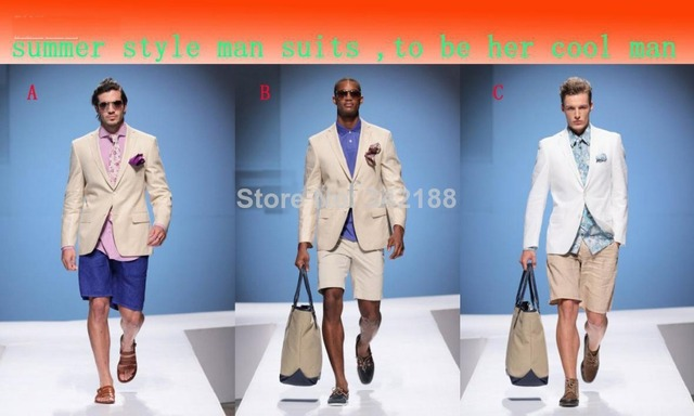 Summer cool man beach wedding dress and groom groomsman groomsmen ...
