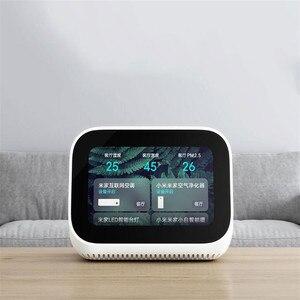Image 5 - In Stock Xiaomi AI Touch Screen Bluetooth 5.0 Speaker Digital Display Alarm Clock WiFi Smart Connection Speaker Mi speaker