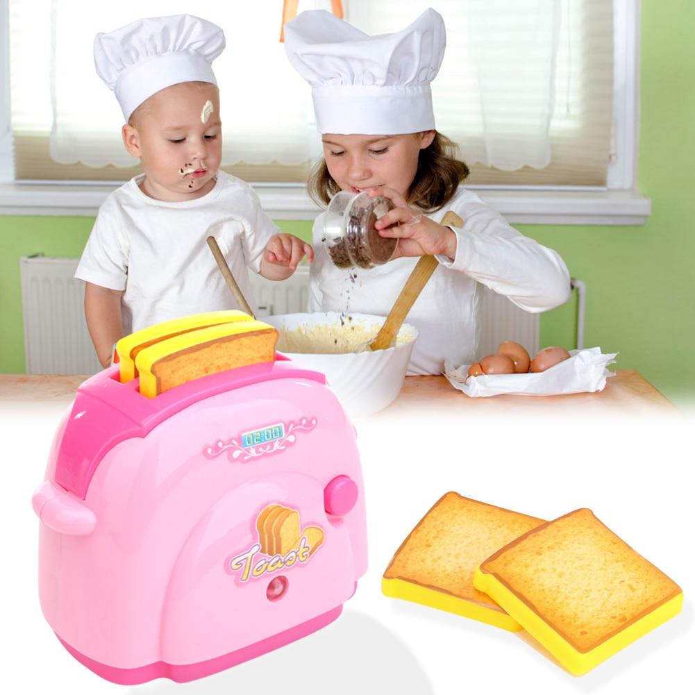2017-Baby-Kitchen-Toys-Mini-Toaster-with-Light-Classic-Toys-Pretend-Play-Kitchen-Toys-for-Children-Kids-Boys-Pink-Kitchen-Toy-1