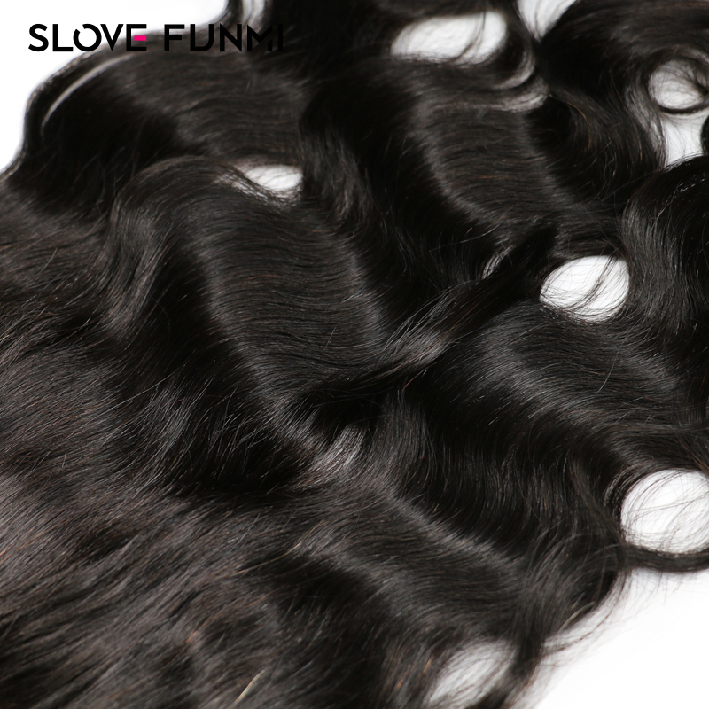 Ear to Ear 13x6 Lace Frontal Closure With Baby Hair Pre Plucked Brazilian Body Wave Remy Human Hair Closure Slove Funmi Hair