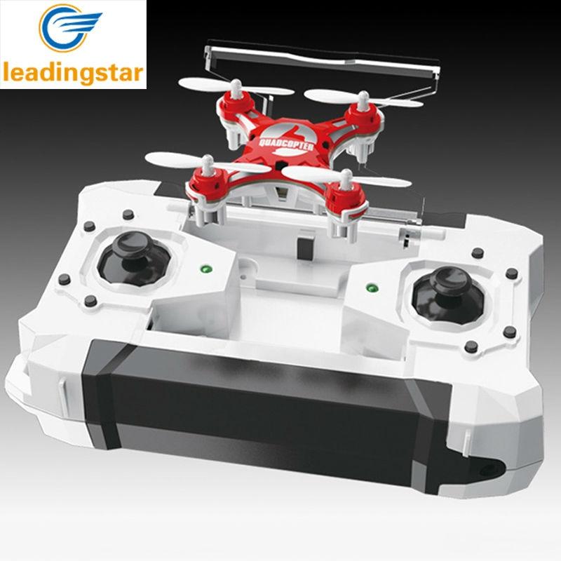 LeadingStar Mini Drone 4 Colors Small Pocket Drone FQ777-124 2.4G 6-Axis Gyro 4CH Headless One Key Return RC Quadcopter RTF zk25
