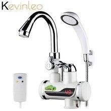 3000 Вт проточный водонагреватель для душа Мгновенный водонагреватель кран кухонный мгновенный кран