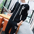 2016 Tracksuit Men Casual Mens Hoodies and Sweatshirts Mens Track Suit Set Sportswear Man 5xl