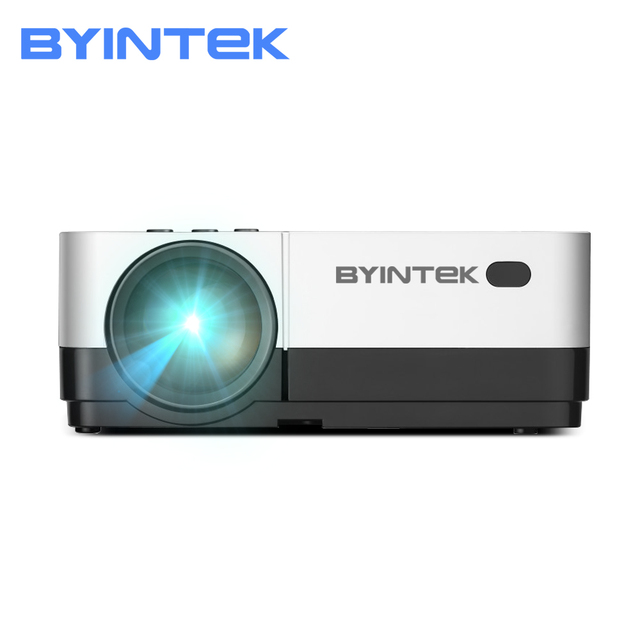 Cheap BYINTEK SKY K7 1280x720 LED Mini Micro Portable Video HD Projector with HDMI USB For Game Movie 1080P Cinema Home Theater