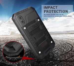 Image 4 - 3 strati Hybrid Impermeabile Antiurto Casse Del Telefono per il iPhone X 8 7 6 6S Plus 5 5S SE PC + TPU con la Cassa di Coperture Del Telefono di Vetro