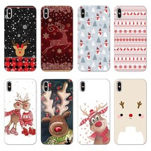 Merry Christmas for Cover iPhone 7 Case 6 6S 8 Plus XR X  5 5S SE Fundas XS Max TPU