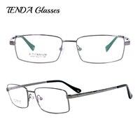 Business Men Full Rim Titanium Flexible Eyeglass Frames For Reading Glasses