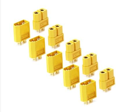 10 Pairs/lot XT60 Connector For E-bike Lipo Batteries Use Original AMASS Brand