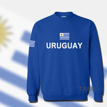 Uruguay Uruguayan hoodie men sweatshirt sweat suit hip hop streetwear footballer sporting tracksuit nation 2017 country flag URY
