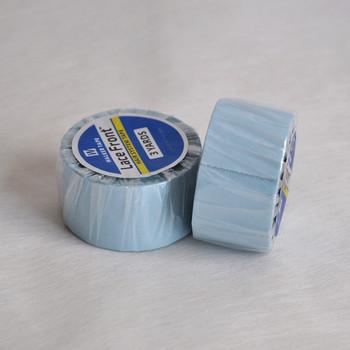 2 54cm (1 cal) * 3 jardy mocna niebieska koronka przednia taśma nośna dwustronne samoprzylepne taśma do włosów do przedłużania taśmy peruka koronkowa peruka tanie i dobre opinie Kleje 1 inch(2 54cm) 1 roll high quality Adhesives 3 yards Blue 4-6 weeks Packing with transparent opp bag Tape Extension Toupee Lace wig