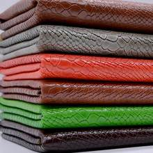 100 135cm Snake Leather Fabric Pu Leatherette Material Holographic Upholstery  Fabric For Furniture Purse Chairs e08fe2904c18